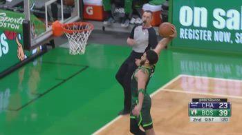 NBA, i 35 punti di Jayson Tatum contro Charlotte