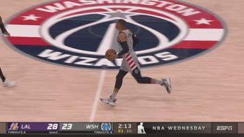 NBA, la tripla doppia di Russell Westbrook contro i Lakers