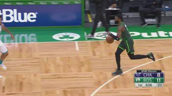 NBA, i 38 punti di Jaylen Brown contro Charlotte