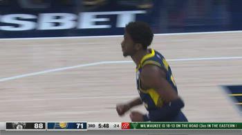 NBA, i 36 punti di Caris LeVert contro Brooklyn