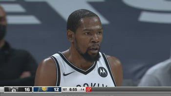 NBA, i 42 punti di Kevin Durant contro Indiana
