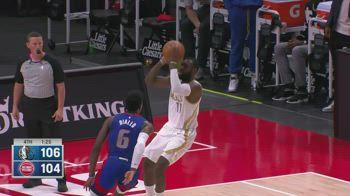 NBA, i 42 punti di Tim Hardaway Jr. contro Detroit