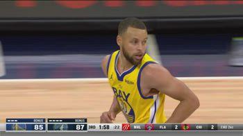 NBA, i 37 punti di Steph Curry contro Minnesota