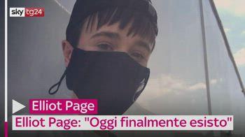 """Elliot Page: """"Oggi finalmente esisto"""""""