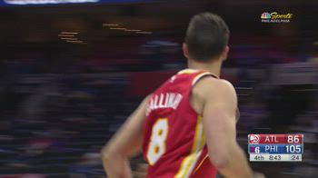 NBA, i 16 punti di Danilo Gallinari contro Philadelphia