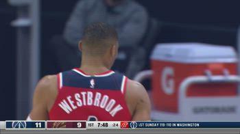 NBA, la tripla doppia di Russell Westbrook contro i Cavs