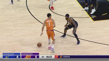 NBA, i 31 punti di Devin Booker contro Utah