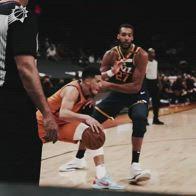 NBA, il super crossover di Booker contro Gobert