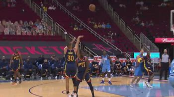NBA, 30 punti di Steph Curry contro Houston