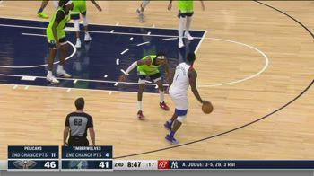 NBA, 37 punti di Zion Williamson contro Minnesota
