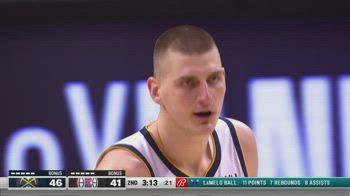 NBA, 30 punti di Nikola Jokic contro i Clippers