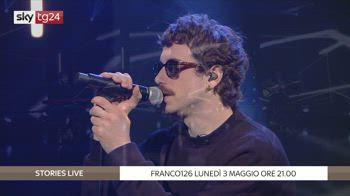 """""""Stories Live - Franco126"""", domani alle 21 su Sky Tg24"""