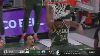 NBA, i 49 punti di Giannis Antetokounmpo contro Brooklyn