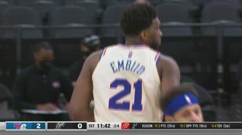 NBA, 34 punti per Joel Embiid contro San Antonio