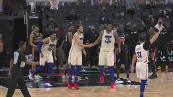 NBA, il buzzer beater di Ben Simmons batte gli Spurs