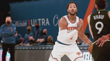 NBA, il meglio di Derrick Rose in maglia New York Knicks