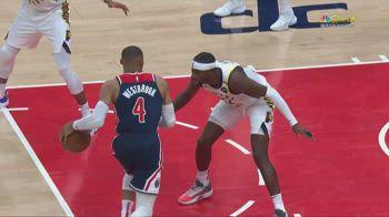 NBA, la tripla doppia da record di Westbrook contro Indiana