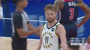 NBA, i 32 punti di Domantas Sabonis contro Washington