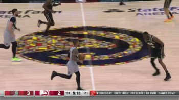 NBA, i 33 punti di Damian Lillard contro Atlanta