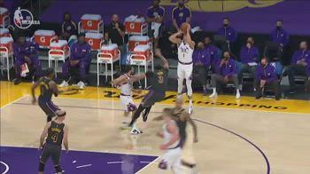NBA: la chiamata arbitrale che ha fatto vincere i Lakers