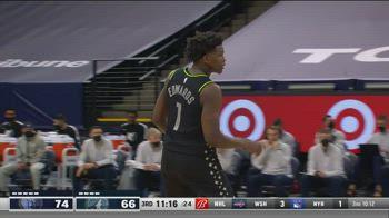 NBA, i 42 punti di Anthony Edwards contro Memphis