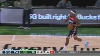 NBA, i 42 punti di Bradley Beal contro Milwaukee