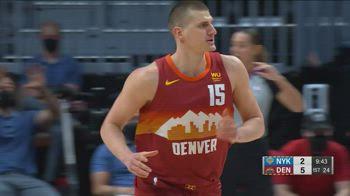 NBA, i 32 punti di Nikola Jokic contro New York