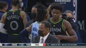 NBA Highlights Minnesota-Memphis 135-139 _5654814