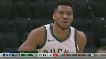 NBA Highlights Milwaukee-Washington 135-134_5845868