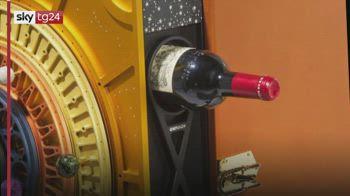 Christie's mette all'asta un vino invecchiato nello Spazio