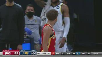 NBA, i 30 punti di Trae Young contro Indiana