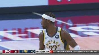NBA, i 31 punti di Caris LeVert contro Atlanta
