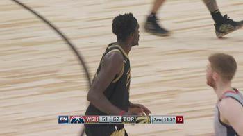 NBA, i 44 punti di Pascal Siakam contro Washington