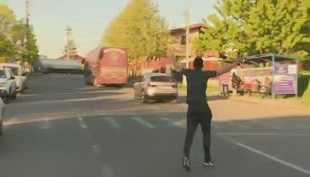 cluj-giocatore-bus