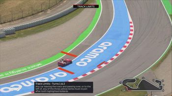 f1 canale 207 (feed rx spagna) 11.45 track limits barcellona