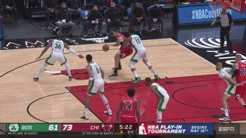 NBA, la tripla doppia di Nikola Vucevic contro Boston