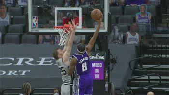 NBA Highlights Sacramento-San Antonio 104-113_2110858