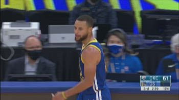 NBA Highlights: Golden State-OKC 136-97