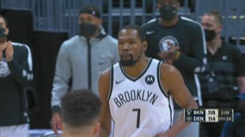NBA Highlights: Denver-Brooklyn 119-125