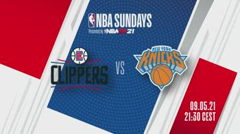 NBA Sundays: LA Clippers-New York alle 21.30 su Sky