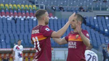 Roma-Crotone 5-0, gol e highlights