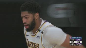 NBA Highlights L.A. Lakers-Phoenix 123-110_0530062