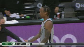 NBA Highlights San Antonio-Milwaukee 146-125_1929577