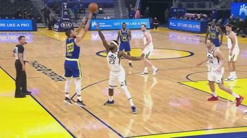 NBA, 36 punti di Steph Curry contro Utah