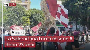 La Salernitana torna in serie A dopo 23 anni