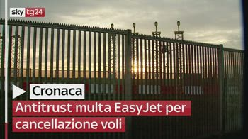 Antitrust multa EasyJet per cancellazione voli