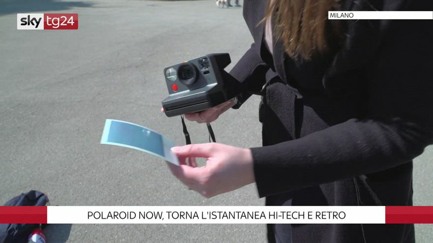 Polaroid Now, torna l'istantanea hi-tech e retro