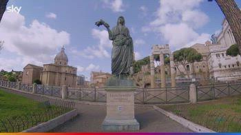 Domina, la statua di Livia Drusilla ai Fori Imperiali