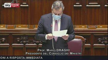 Lunedì Cabina regia, Draghi: su riaperture approccio graduale