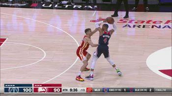 NBA, 34 punri di Russell Westbrook contro Atlanta